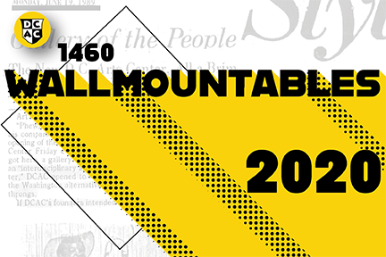 1460 Wallmountables   <br>  August 8th - October 18th, 2020